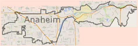 Garden Grove Ca City Boundary Anaheim Map My