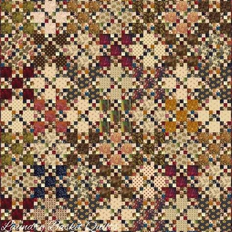 Laundry Baskets Quilts by Laundry Basket Quilt Of The Day Nine Patch B