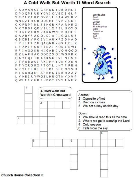crafts for sunday school preschoolers crossword