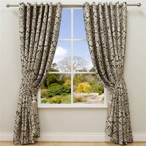 cream and taupe curtains scatter box beliez chenille lined eyelet curtains taupe