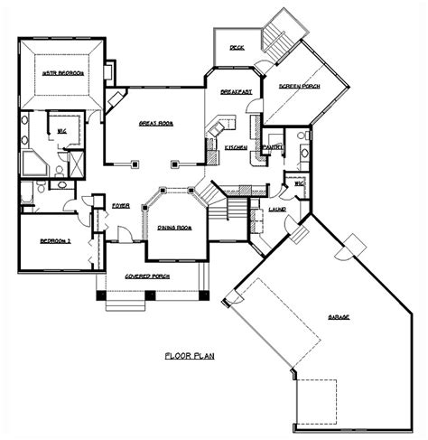 Home Floor Plans Ramblers Rambler Floor Plans Plan 200318 Tjb Homes