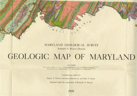 maryland geologic map geologic map of maryland md maps umd libraries