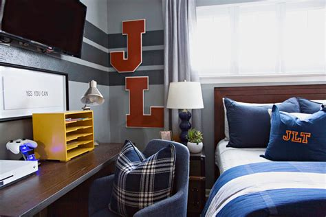 vintage sports boys room project nursery readers favorite varsity sports inspired boys room for