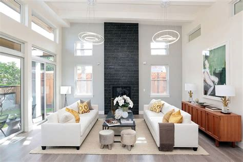 high ceiling living room modern living room miami 43 beautiful large living room ideas formal casual