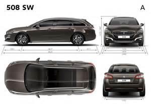 Peugeot 508 Dimensions Dimensions Ext 233 Rieures Peugeot 508 Sw Restyl 233 E 2014
