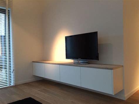 besta tv wand zwevende tv kast ontwerp en vervaardigd door www