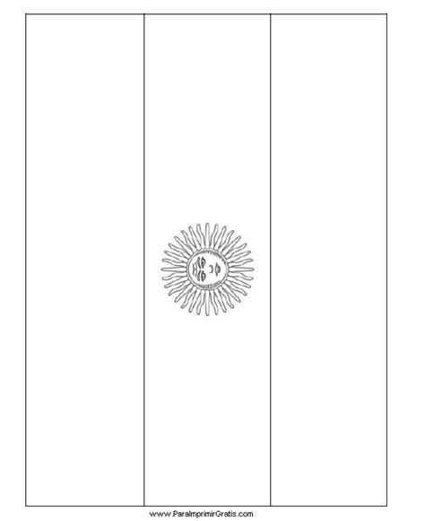 Bandera De Argentina Para Colorear Para Imprimir Gratis | bandera de argentina para imprimir imagui