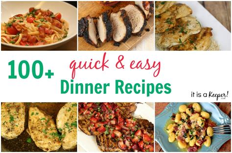 100 dinner recipes quick easy meals it is a keeper