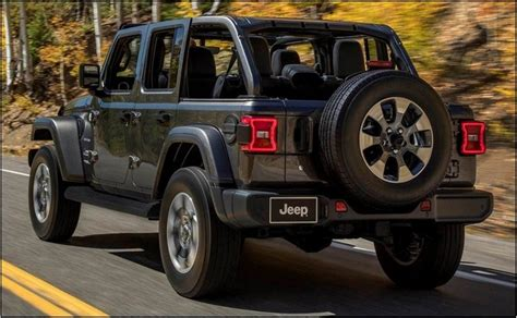 2020 Jeep Gladiator Gas Mileage by 2020 Jeep Wrangler Unlimited Gas Mileage Price Msrp