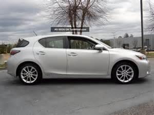 2012 lexus ct 200h hatchback
