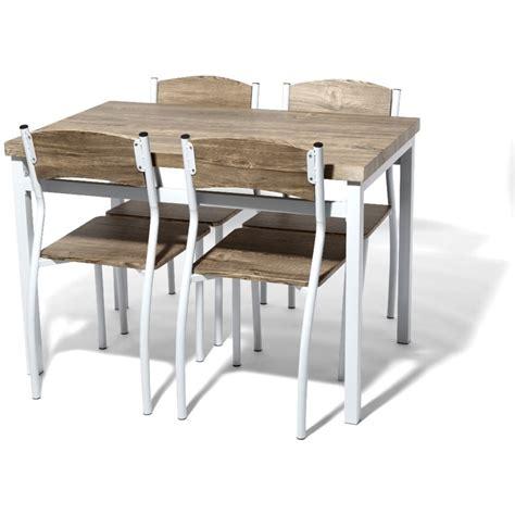 table avec chaises table avec chaises encastrables table et 4 chaises