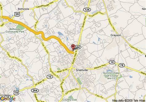 map of crestwood suites of snellville snellville