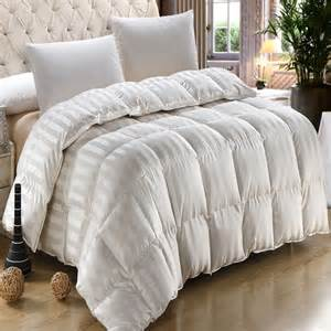 silk king cal king 900tc stripe goose comforter 60oz
