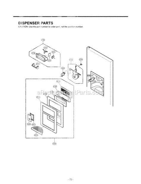 lfx25960st repair door parts wiring diagrams wiring diagrams