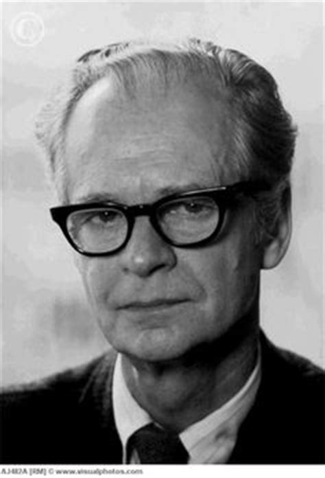 b f painted portrait of b f skinner photo taken at the