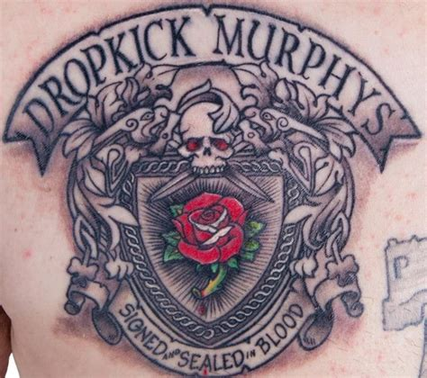 dropkick murphys rose tattoo album pin by hngn on entertainment tattoos dropkick murphys