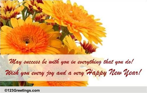 formal greetings on new year free business greetings