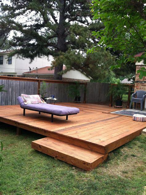 nice backyard deck ideas  increase  house selling