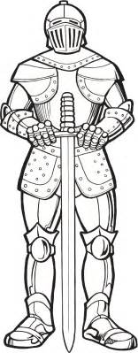printable coloring pages knights in armor coloring page clip and graphics