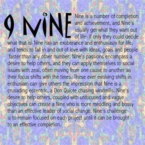 Numerology number 9 marriage