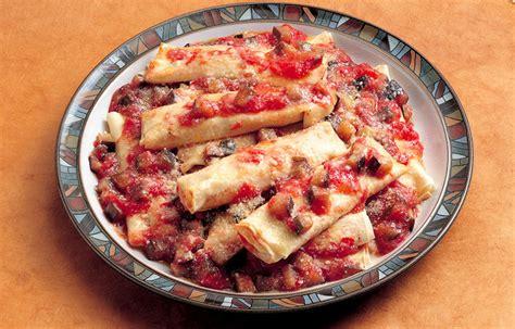 la cucina italiana ricette di pesce ricetta cannelloni di pesce le ricette de la cucina italiana