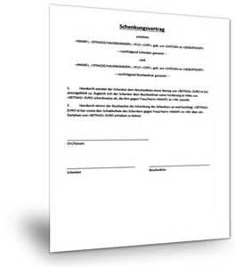 Word Vorlage Urteil Schenkungsvertrag Geld Muster Kostenlos Targobank Erfahrungen