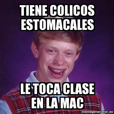 Meme Generator Mac - meme bad luck brian tiene colicos estomacales le toca