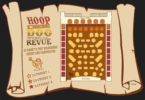 Pizza Restaurant Floor Plan Hoop Dee Doo Musical Revue Menu Fort Wilderness Resort