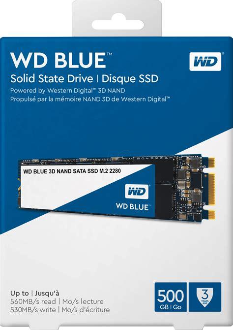 Ssd 500gb Wd Blue 2 5 wds500g2b0b wd blue 3d ssd m 2 500gb sata bei reichelt