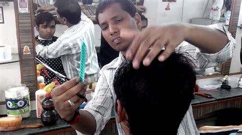 indian haircuts youtube clean haircut at the barbershop in india youtube
