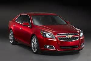 2013 chevrolet malibu debuts with all new 190 horsepower 2