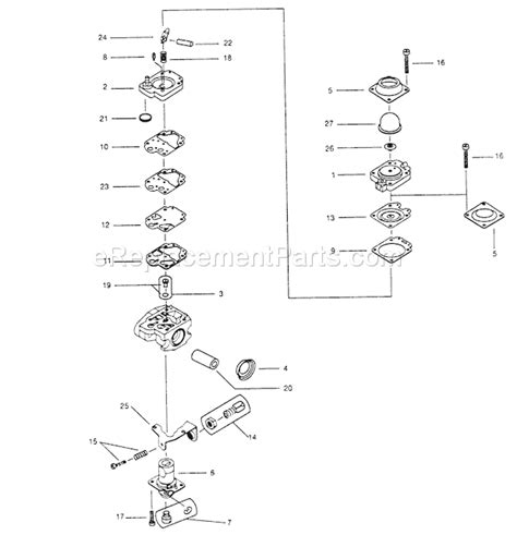 Walbro Wyc Carburetor Diagrams
