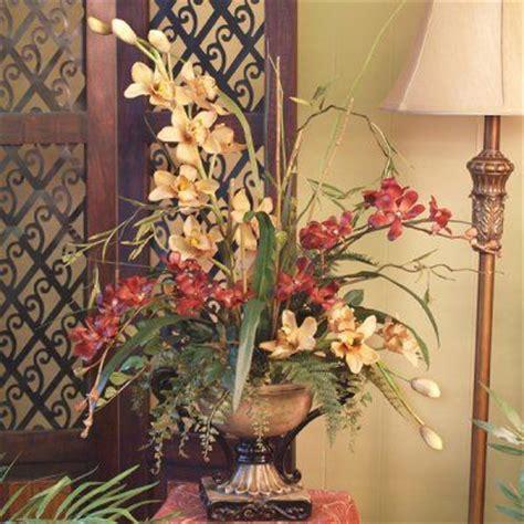 Home Decor Silk Floral Arrangement Floral Decor Tropical 1000 Images About Silk Orchids Tropical Arrangements On Pinterest Pedestal Resins And Silk