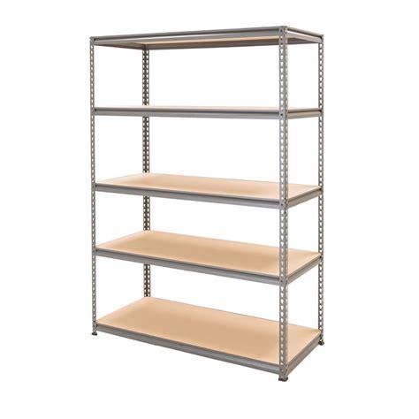 5 tier shelving unit montgomery 5 tier shelving unit at homebase co uk