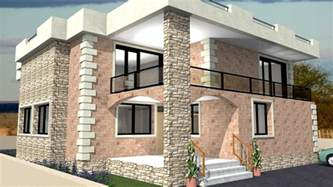 house design freelance redesign my house and render with a modern flat roof with