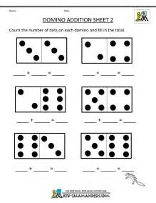 Domino addition sheet 2