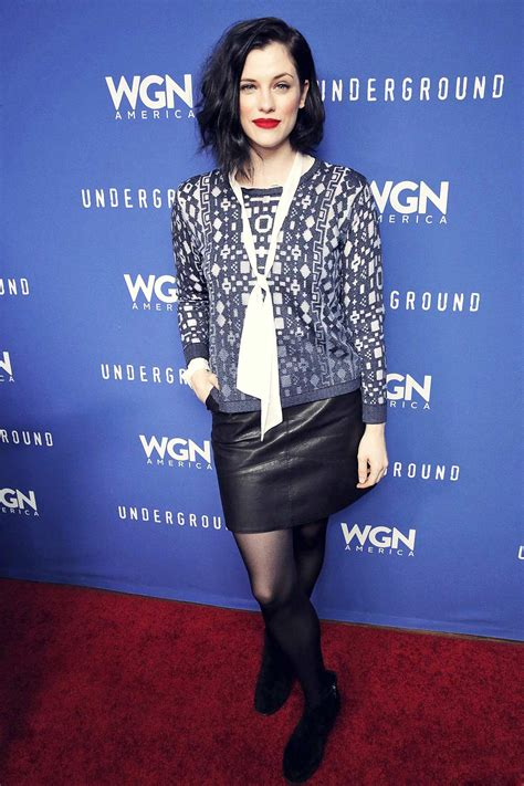 jessica de gouw attends underground party leather