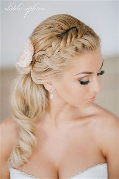 Bridesmaid Hairstyles 2014 by Everthing Side Ponytail Bridesmaid Hairstyles
