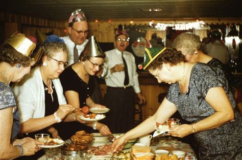 what years are considered mid century found photos of mid century new year s celebrations flashbak