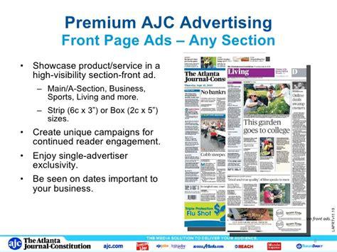 ajc living section ajc print portfolio nov2010