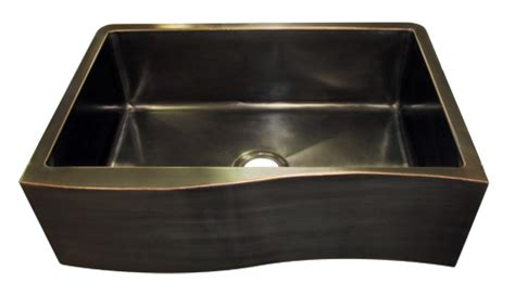 rubbed bronze farmhouse sink custom sinks made to order lightsmith