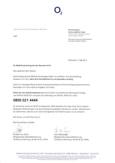 Kündigung Muster Handyvertrag O2 O2 K 252 Ndigung Vorlage K 252 Ndigung Vorlage Fwptc