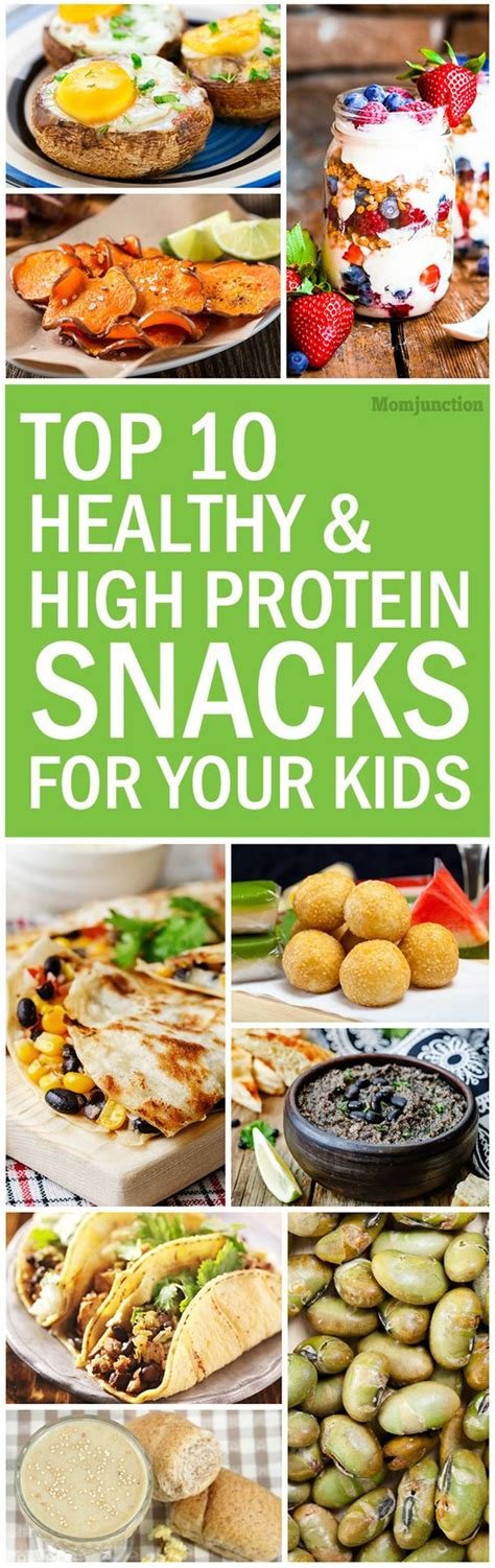 protein rich snacks top 10 healthy and high protein snacks for kid