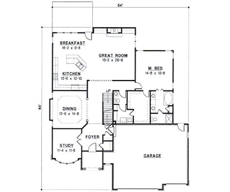 traditional 4 beds 3 baths 1856 sq ft plan 44 162 main traditional style house plan 4 beds 3 baths 2814 sq ft
