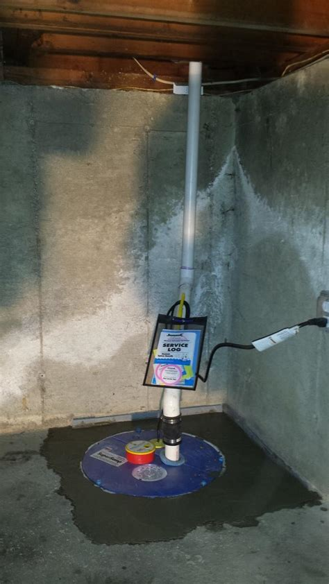 dryzone basement systems dryzone basement systems basement waterproofing photo album sump installed in holbrook ma