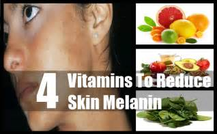 skin color melanin 4 vitamins to reduce skin melanin tips for reducing skin