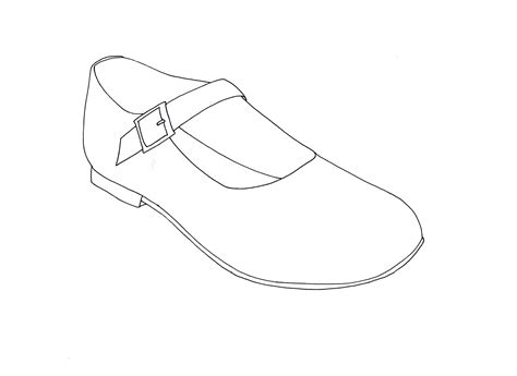 shoe outline template www imgkid com the image kid has it