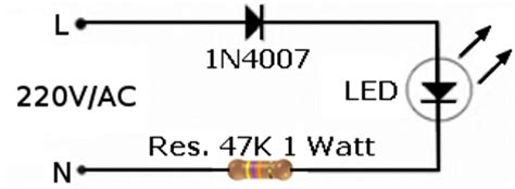 led resistor 220v led 220v
