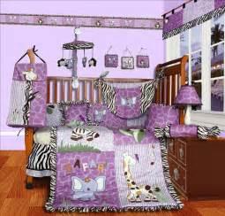 Safari baby crib bedding set by sisi baby designs brings adorable