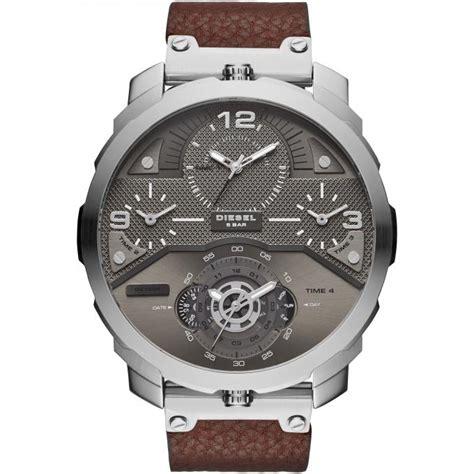 montre diesel dz7360 montre cuir brun homme sur bijourama montre homme pas cher en ligne